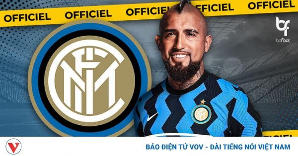 Chia tay Barca, Arturo Vidal chính thức gia nhập Inter Milan | VOV.VN