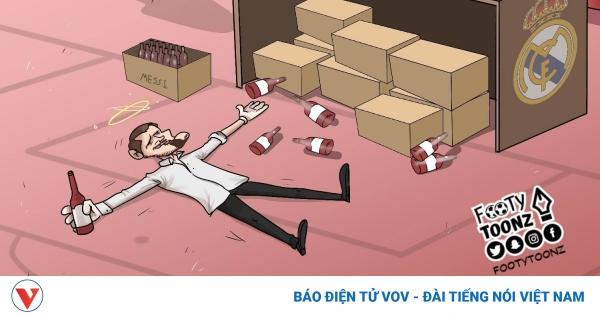 Biếm họa 24h: Perez sốc nặng khi thấy Casillas say bia của Messi | VOV.VN