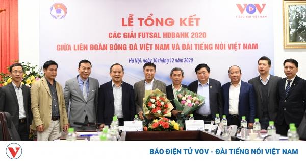 VOV, VFF và HDBank quyết tâm giúp Futsal Việt Nam vươn tầm thế giới | VOV.VN