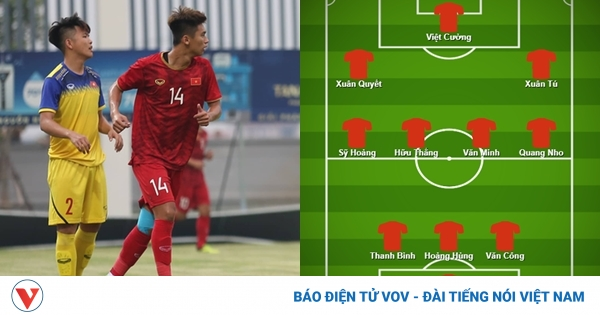 Đội hình dự kiến của U22 Việt Nam trong trận giao hữu với ĐT Việt Nam - bongda24h