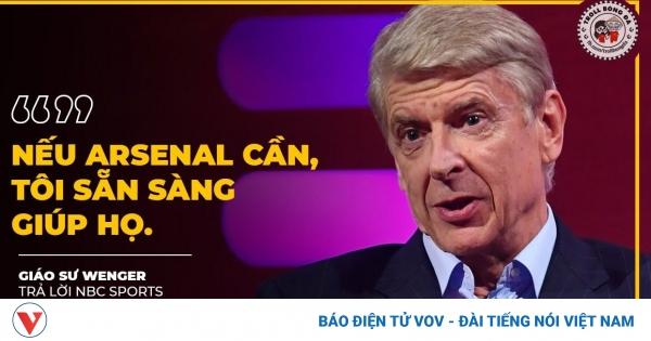 Biếm họa 24h: HLV Wenger sẵn sàng trở lại
