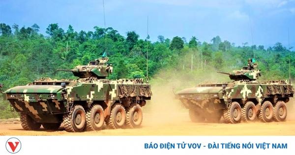 Nhận diện xe bọc thép AV-8 Gempita của Malaysia   VOV.VN