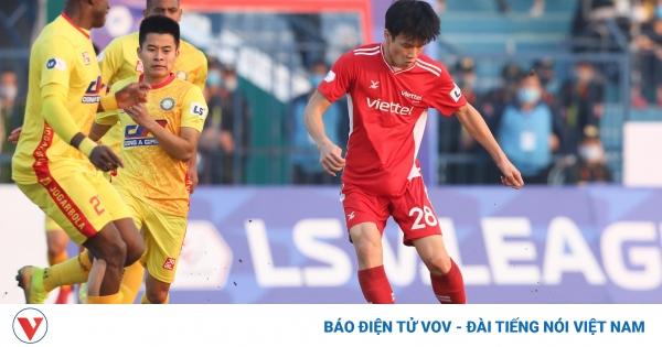 Cựu sao HAGL phung phí cơ hội, Thanh Hóa chia điểm với Viettel | VOV.VN