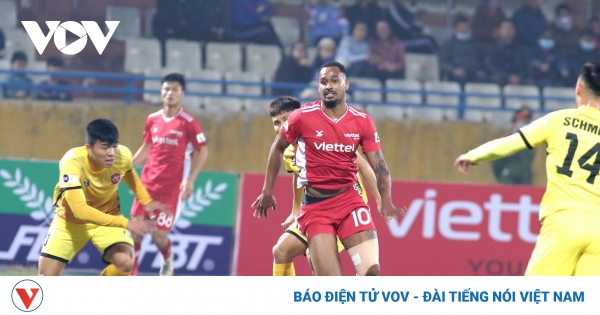 Chùm ảnh: Ngoại binh xuất sắc V-League 2020 nhạt nhòa trước hàng thủ Hải Phòng | VOV.VN