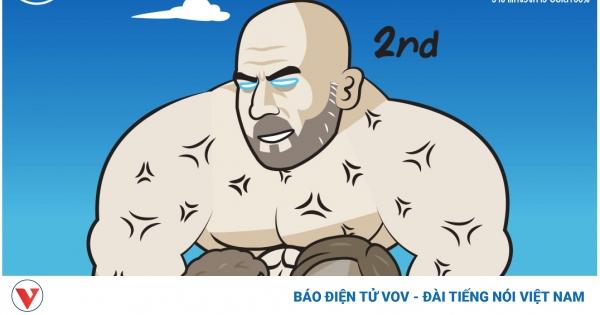 Biếm họa 24h: Pep Guardiola khoe cơ bụng 6 múi khiến Solskjaer toát mồ hôi | VOV.VN