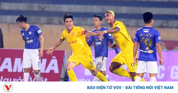 Nam Định đã quên chiến thắng trước Hà Nội FC, sẵn sàng đấu Hải Phòng   VOV.VN