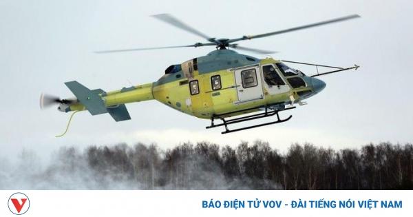 Trực thăng Ansat-M của Nga thực hiện chuyến bay đầu tiên   VOV.VN