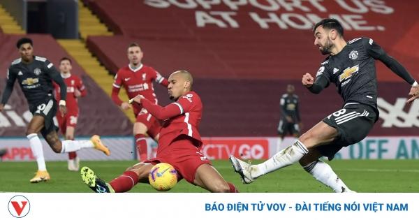 Kết quả Liverpool vs MU vòng 19 Ngoại hạng Anh 2020/2021