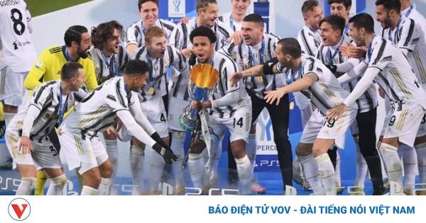 Ronaldo tỏa sáng, Juventus lần thứ 9 đoạt Siêu Cúp Italy | VOV.VN