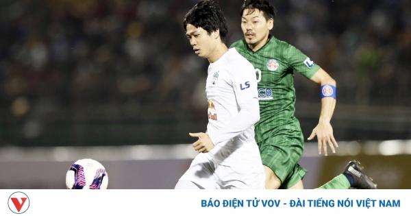 TRỰC TIẾP Sài Gòn FC 0-0 HAGL: Tiếc cho Công Phượng và Đỗ Merlo | VOV.VN