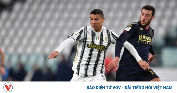 Ronaldo chưa thể đi vào lịch sử, Juventus nhọc nhằn vào tứ kết Cúp QG Italy  | VOV.VN
