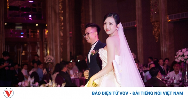 Toàn cảnh đám cưới phong cách Hy Lạp của Á hậu Thuý An tại TP.HCM   VOV.VN