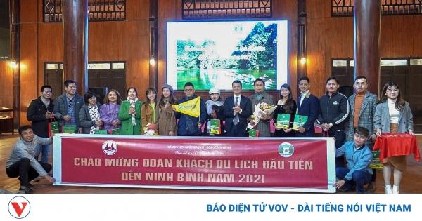 Ninh Bình đón đoàn khách du lịch đầu tiên năm 2021 | VOV.VN