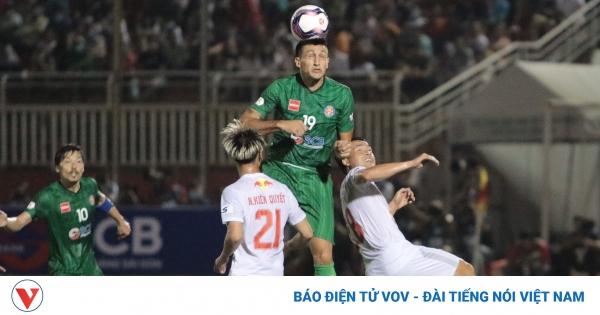 TRỰC TIẾP Sài Gòn FC 1-0 HAGL: Đỗ Merlo gieo sầu cho Công Phượng | VOV.VN