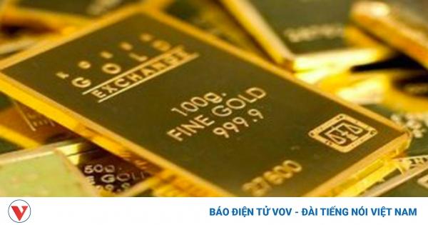 Vàng SJC đứng giá trong khi vàng thế giới tiếp tục tăng mạnh | VOV.VN - gia vang