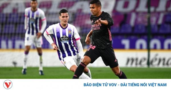 Thủ môn Courtois tỏa sáng, Real Madrid thắng nhọc Valladolid   VOV.VN