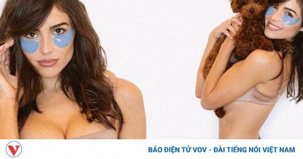 Hoa hậu Hoàn vũ Olivia Culpo diện nội y nóng bỏng bên cún cưng | VOV.VN
