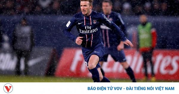 Ngày này năm xưa: David Beckham ra mắt PSG  | VOV.VN
