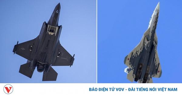 Siêu tiêm kích F-35 của Mỹ hay Su-57 của Nga giành chiến thắng nếu đối đầu với nhau? | VOV.VN