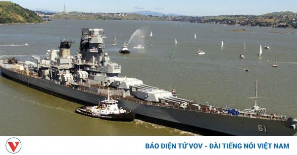 Kịch bản thiết giáp hạm Mỹ giao chiến với tuần dương hạm Liên Xô: Ai thắng, ai thua? | VOV.VN