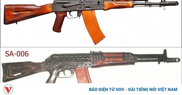 Súng AK-74 (phiên bản cải tiến) đã vượt qua đối thủ SA-006 như thế nào? | VOV.VN