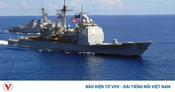 Tàu chiến Mỹ ở Trung Đông phải cập cảng do bùng phát dịch Covid-19 | VOV.VN