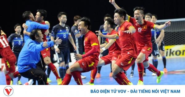 Ngày này năm xưa: ĐT Futsal Việt Nám hạ gục Nhật Bản, làm nên lịch sử    VOV.VN