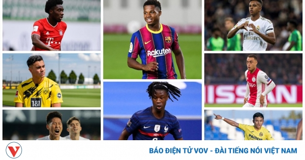 Đội hình U23 của những CLB hàng đầu châu Âu | VOV.VN - giá vàng 9999 hôm nay 1311
