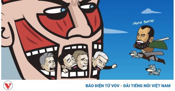 Biếm họa 24h: HLV Pep Guardiola trừng trị
