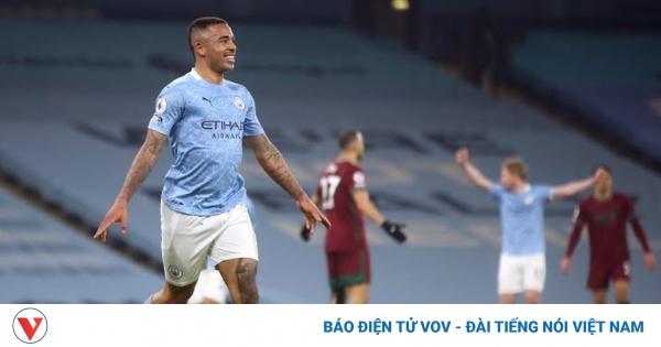 Bảng xếp hạng Ngoại hạng Anh mới nhất: Man City hơn MU 15 điểm | VOV.VN