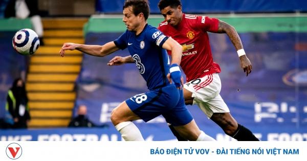 Chia điểm trên sân Chelsea, MU kém đội đầu bảng Man City 12 điểm | VOV.VN