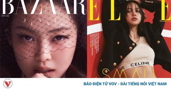 Jennie, Lisa (BLACKPINK) đọ sắc trên bìa tạp chí | VOV.VN