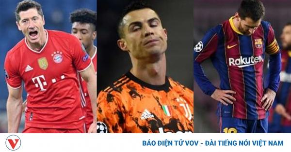 Bảng xếp hạng sức mạnh các đội vòng 1/8 Champions League: Buồn cho Barca | VOV.VN