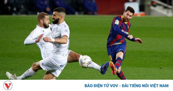 Messi bứt tốc trong cuộc đua vua phá lưới La Liga 2020/2021 | VOV.VN