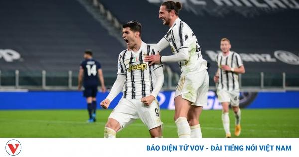 Juventus thắng dễ Lazio, phả hơi nóng vào AC Milan và Inter Milan | VOV.VN