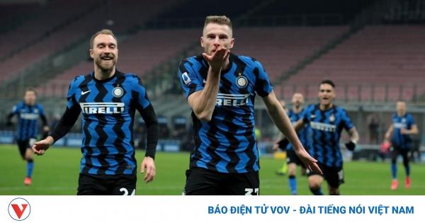Inter Milan thắng trận thứ 7 liên tiếp, tiến sát danh hiệu Scudetto  | VOV.VN - mega 645