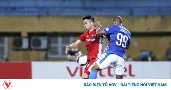 Viettel đe dọa ngôi đầu của HAGL sau khi đánh bại Quảng Ninh | VOV.VN