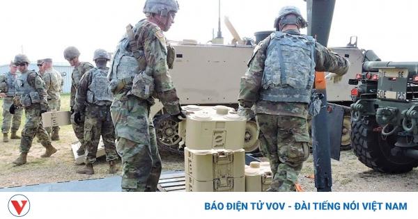 Quân đội Mỹ phát triển mìn tấn công đột nóc xe tăng điều khiển từ xa   VOV.VN