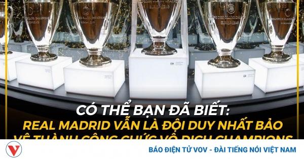 Biếm họa 24h: Real Madrid duy trì kỷ lục khó tin ở Champions League | VOV.VN