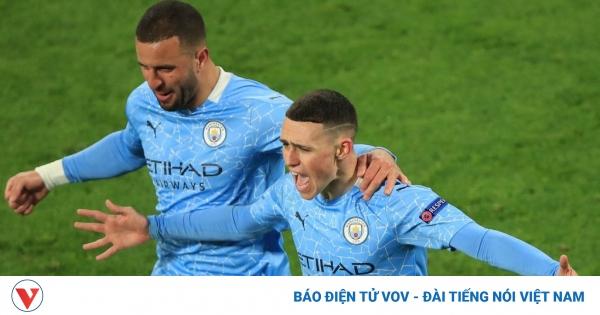 Đánh bại Dortmund, Man City gặp PSG ở bán kết Champions League   VOV.VN