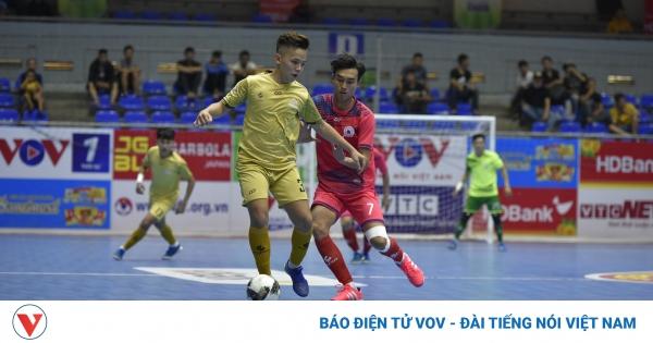 Giải Futsal HDBank VĐQG 2021: Tân Hiệp Hưng có chiến thắng đầu tay | VOV.VN
