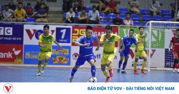 Giải Futsal HDBank VĐQG 2021: Sahako 4-1 Hiếu Hoa Đà Nẵng | VOV.VN