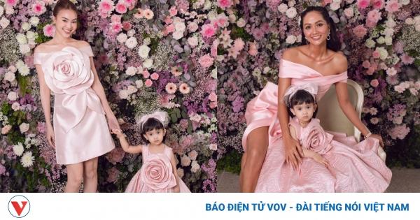 Ninh Dương Lan Ngọc, H'Hen Niê và dàn mỹ nhân đọ sắc với đầm hồng nữ tính   VOV.VN