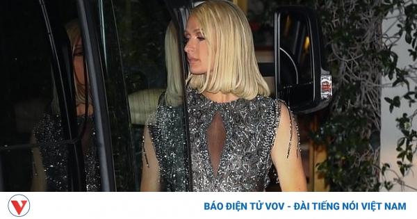 Paris Hilton nóng bỏng dự tiệc hậu lễ trao giải Oscar