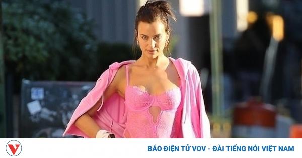 Irina Shayk gợi cảm trong buổi chụp hình cho thương hiệu thời trang nội y