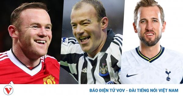 Top 10 chân sút vĩ đại nhất lịch sử Premier League   VOV.VN