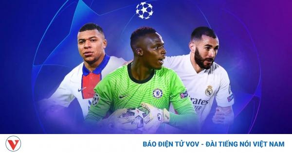 Lượt về tứ kết Champions League 2020/2021: Sức bật từ… chân tường   VOV.VN