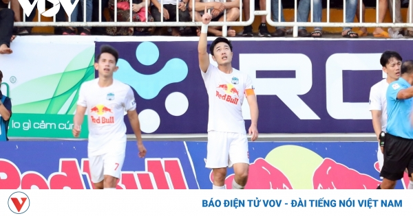 Bàn thắng đẹp V-League 2021 tháng 4: HAGL áp đảo  | VOV.VN