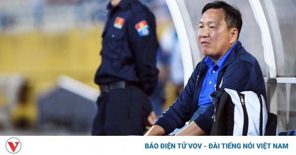 HLV Hoàng Văn Phúc mong thần may mắn trợ giúp Hà Nội FC ở trận gặp HAGL | VOV.VN