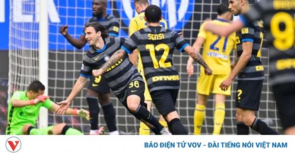 Cựu sao MU ghi bàn, Inter Milan tiến gần chức vô địch Serie A | VOV.VN